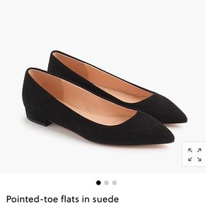 J Crew Pointed Toe Flats